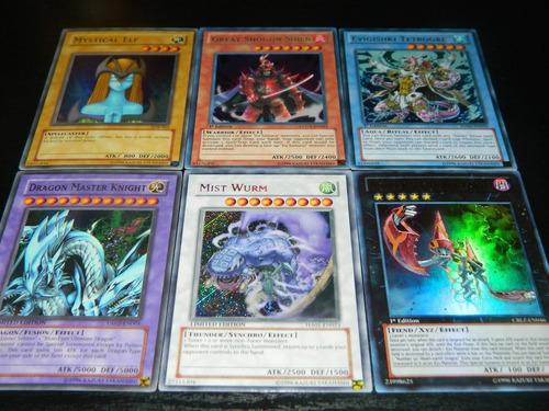 mega pack de cartas de yugioh remate!! envio gratis express!