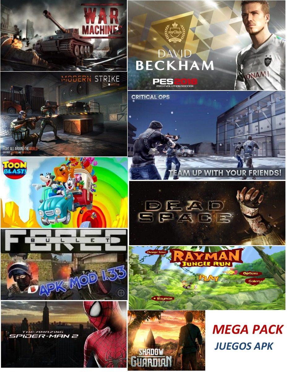 Mega Pack De Juegos Para Android Mas De 200 Juegos S 15 00 En