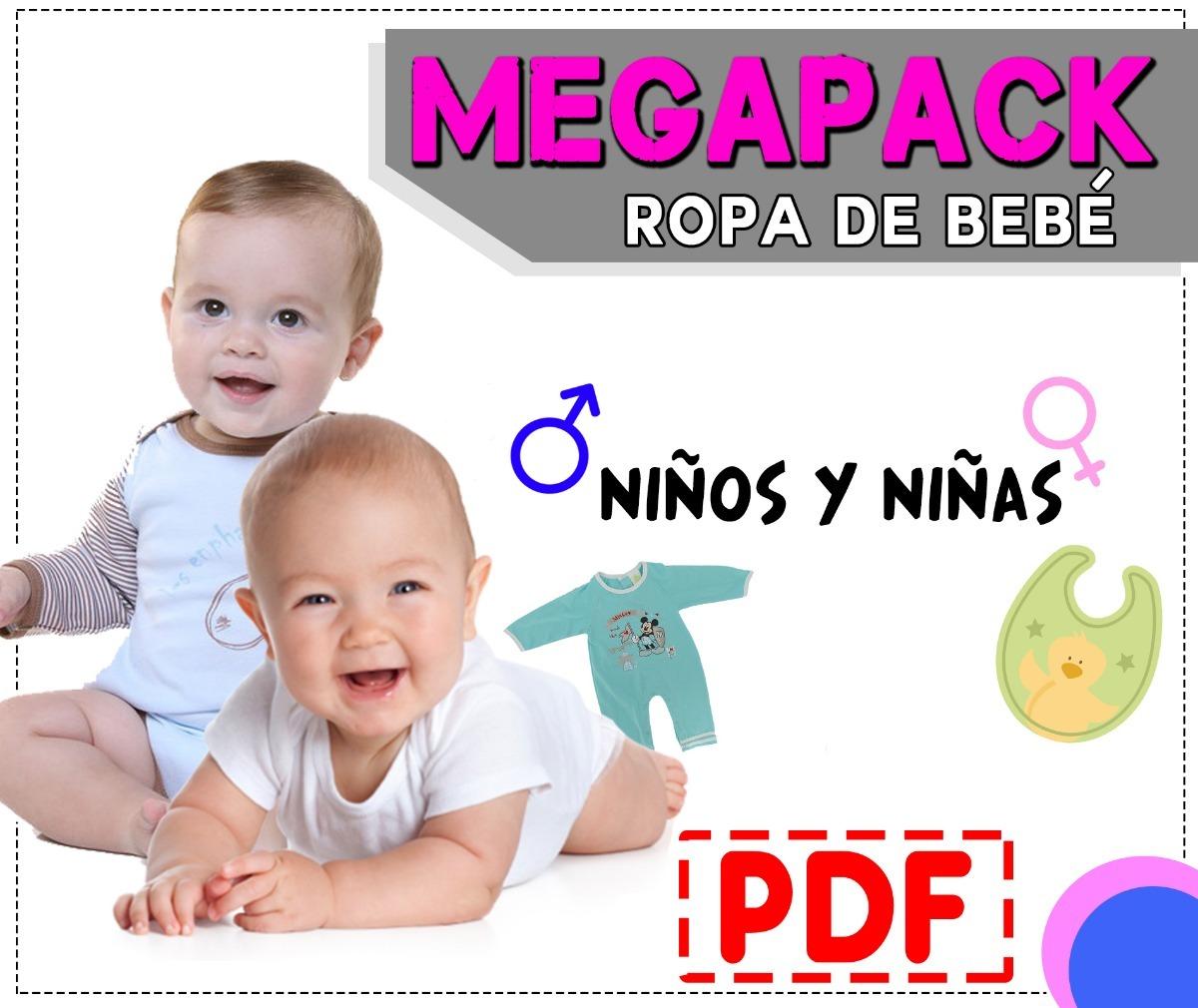 Mega Pack De Patrones De Costura Pdf - Ropa De Bebé - $ 115,00 en ...