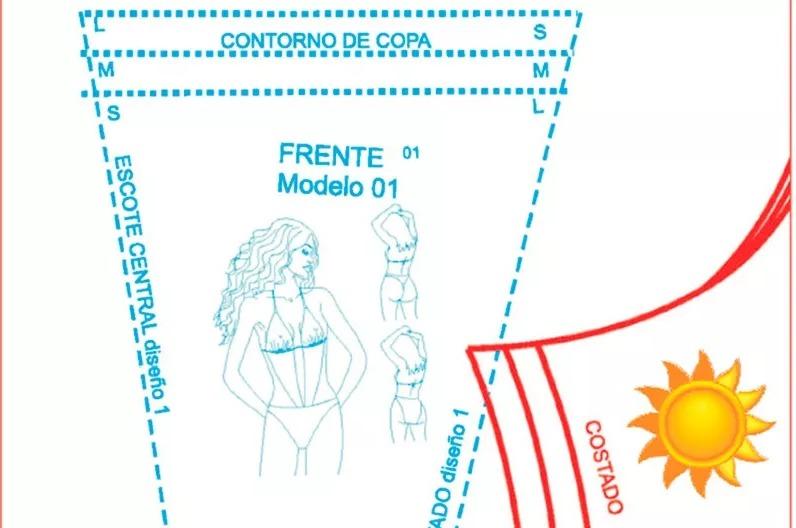 Mega Pack De Patrones De Costura Pdf - Traje De Baño - U$S 3,00 en ...