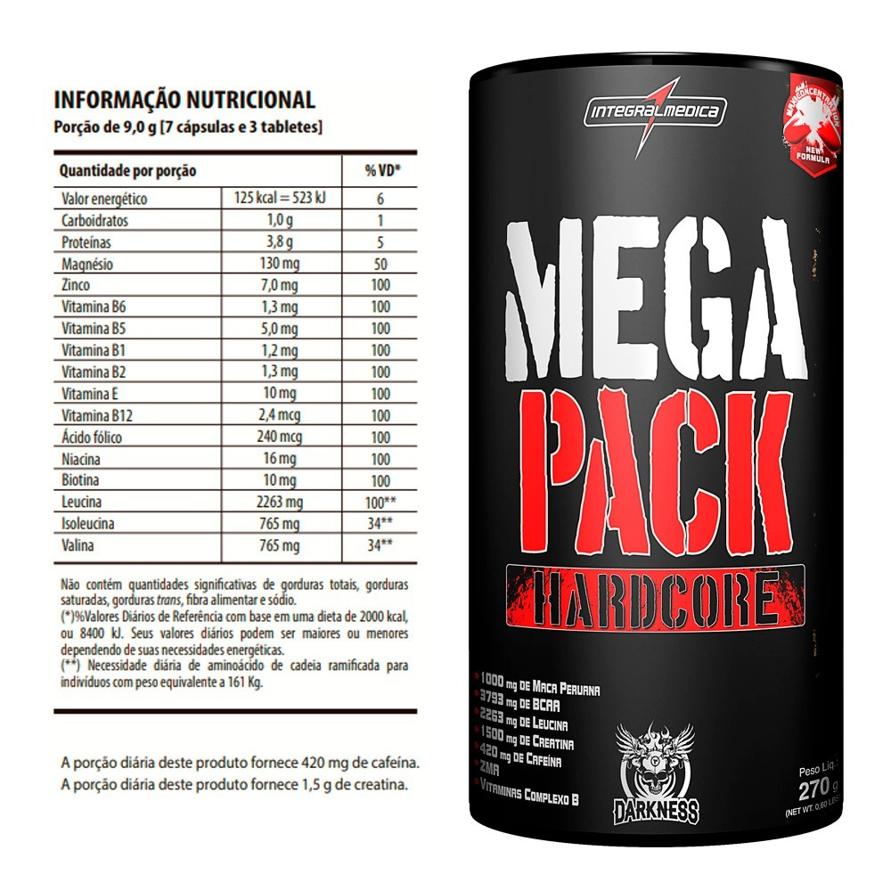 08dee1d21 mega pack hardcore darkness 30 packs - animal pak. Carregando zoom.