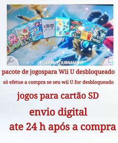 Mega Pack Wii U Games - (loadiine Ready 2 Play)