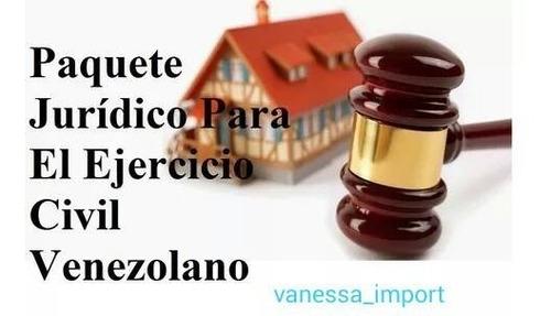 mega paquete jurídico para el ejercicio del abogado completo