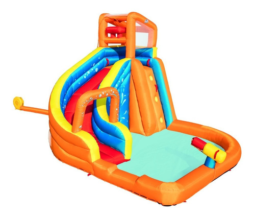 mega parque acuático inflable bestway turbo splash water