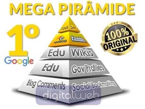 mega pirâmide seo backlinks seguros alta autoridade + brinde