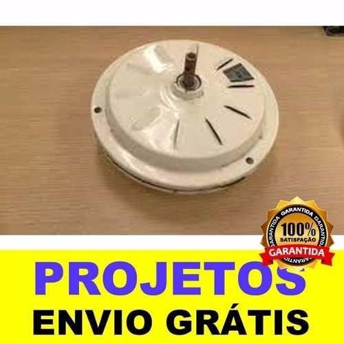 0b65b604e89 Mega Projeto Gerador Eolico De Ventilador De Teto + Brind - R  13