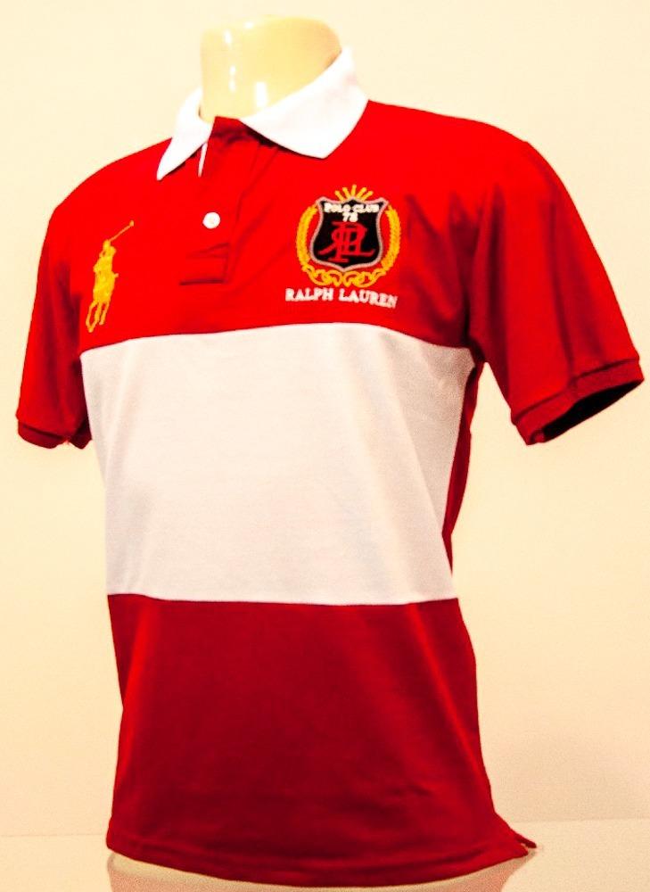 Mega Promoção Camisa Polo R. L. Masculina - R  35 adee4e79d89a3