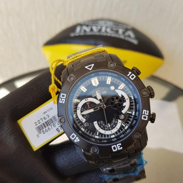 80a120b5d1e Mega Promoção Relógio Invicta Pro Diver 22763 Original Preto - R  639