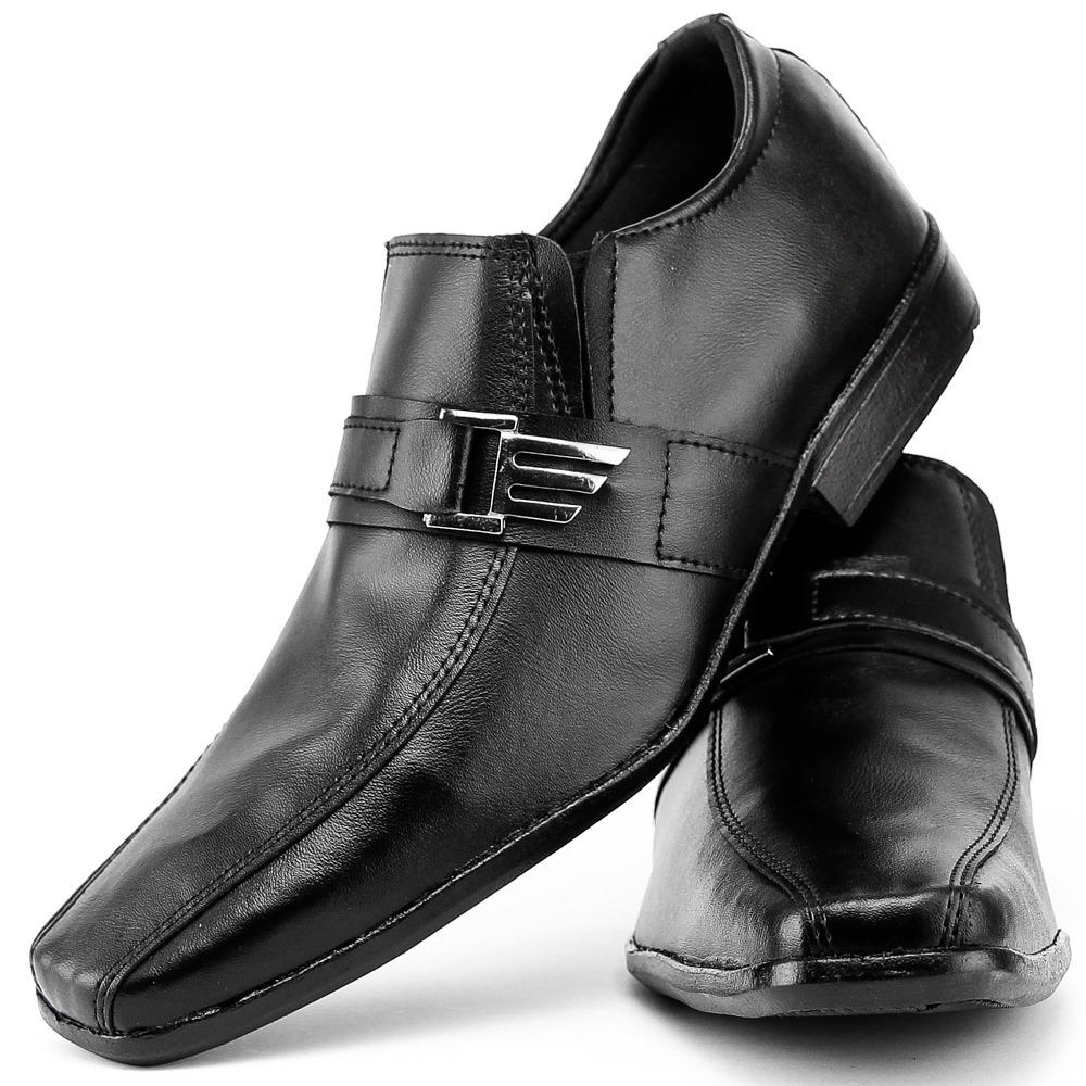 ab1b90ed8 mega promoção sapato social masculino barato couro. Carregando zoom.