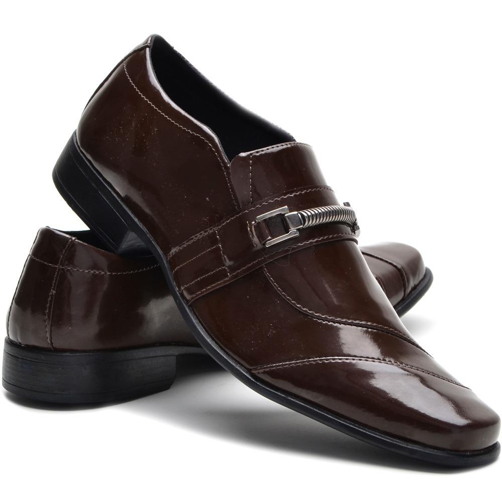 2d0a6e389 mega promoção sapato social masculino couro sintético. Carregando zoom.