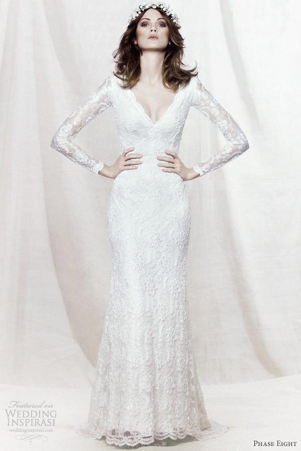 Vestido branco longo manga longa