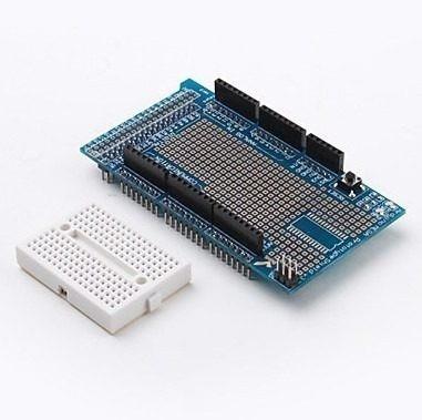 mega protoshield v3+ mini protoboard - arduino proto shield