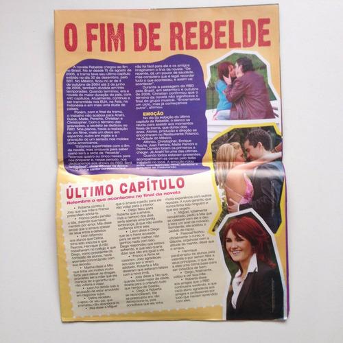 mega pôster rebelde oficial anahí portilla nº07