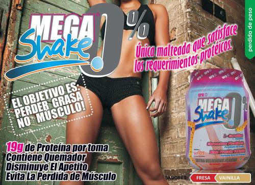 mega shake 1.4lbs upn 0 grasa l carnitina