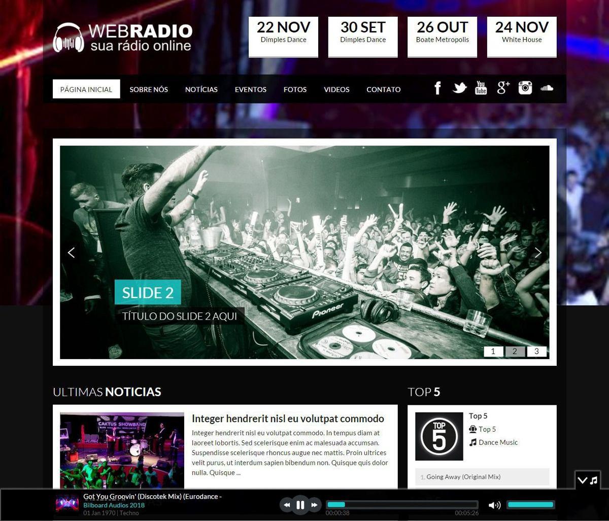 Mega site web radio online em php 100 administrvel wp r 3999 carregando zoom stopboris Gallery