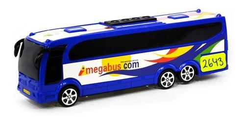 megabus micro a friccion auto colectivo juguete 2643 edu