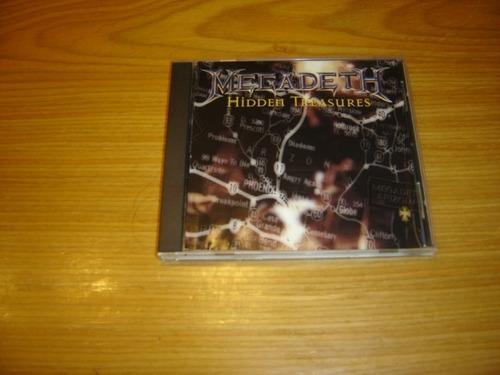 megadeth hidden treasures cd importado usa metal mustaine