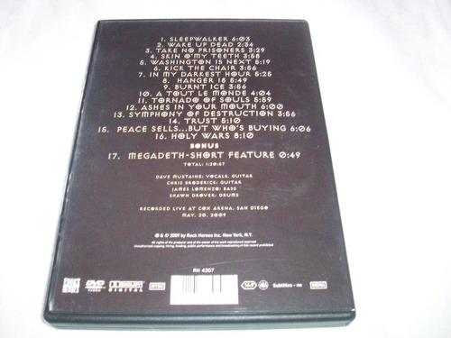 megadeth in usa 2008 dvd