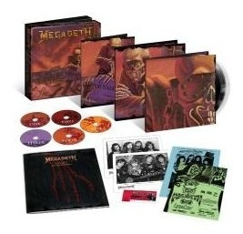 megadeth  peace sells. 25th anniv box- 3lp + 5 cd disponible