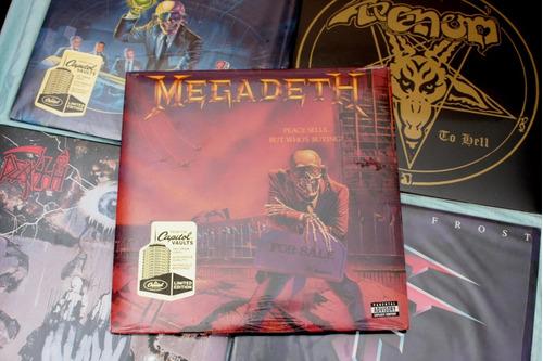megadeth peace sells vinilo 180g. sellado ,metallica ,slayer