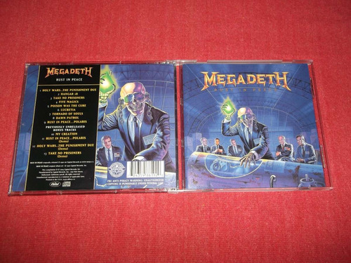 megadeth - rust in peace bonus tracks cd imp ed 2004 mdisk