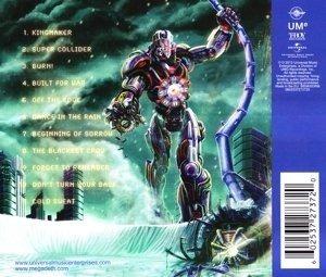 megadeth super collider cd con 11 canciones
