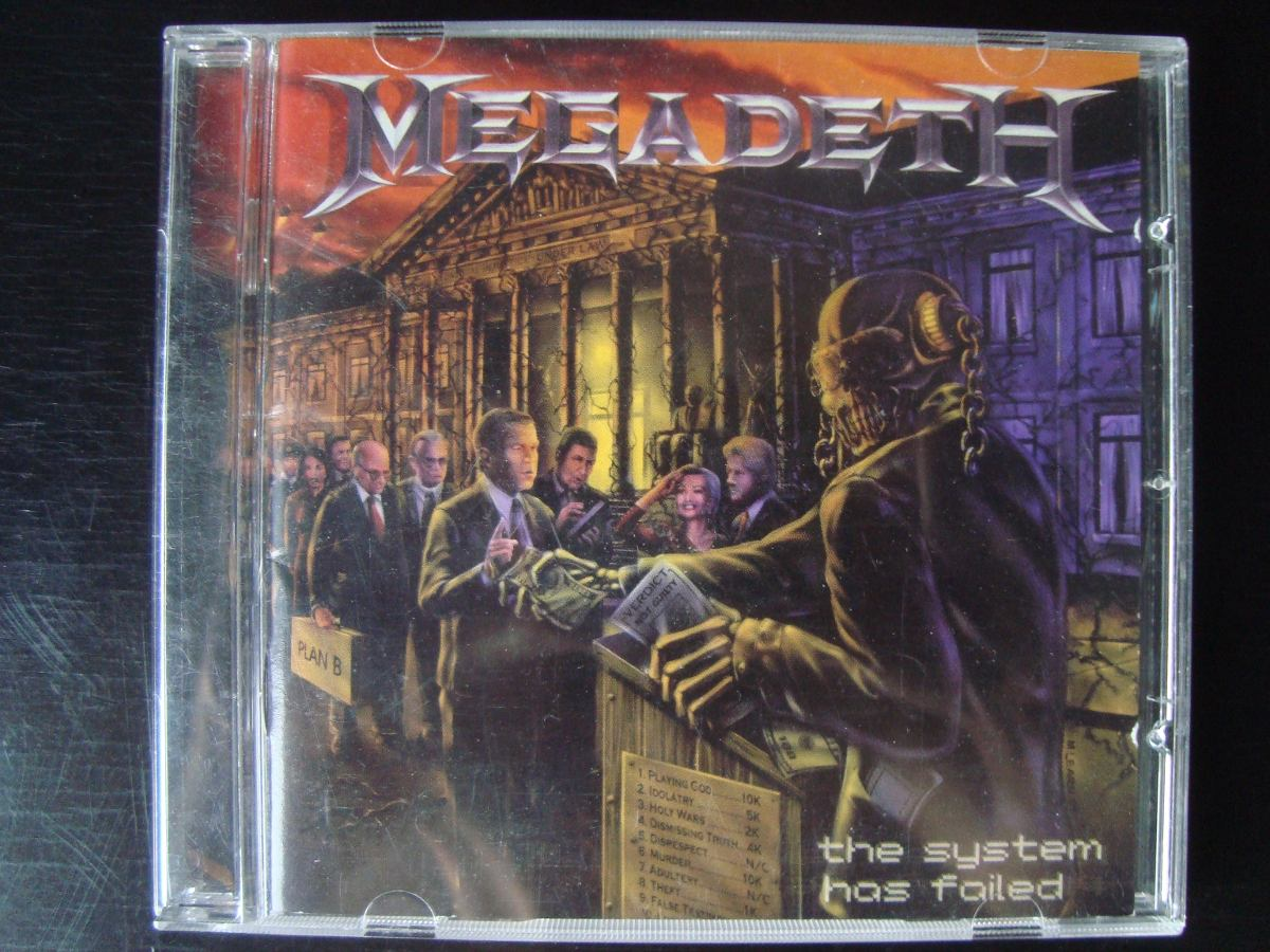 Megadeth the system has failed en mercado libre jpg 1200x900 The system has  failed 95244883d504d