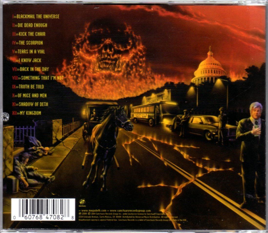 Megadeth the system has failed imp de usa impecable cargando zoom jpg  1099x958 The system has 1a2d124e90e30