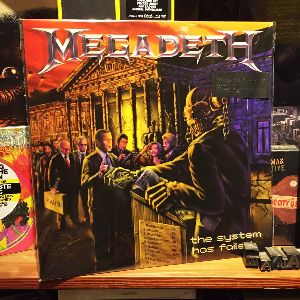 Megadeth the system has failed edicion vinilo cargando zoom jpg 1200x1200  The system has failed 6084028f0ac8b