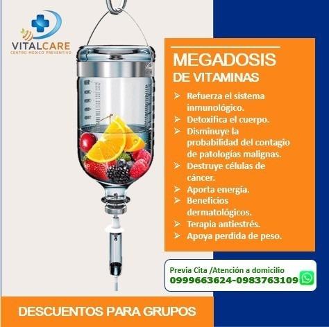 megadosis de vitaminas