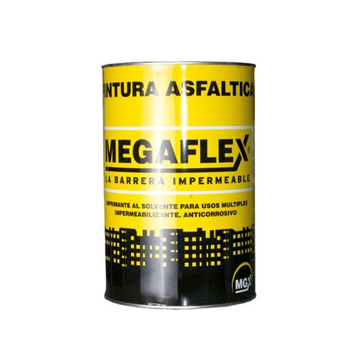 megaflex pintura asfáltica 4 lt
