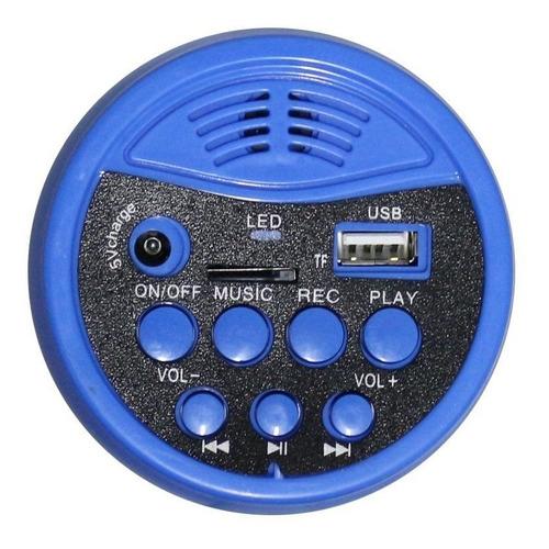 megafone 30w com bateria recarregável, sirene e usb