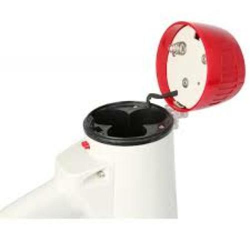 megafone com microfone de mao 30w 300m com gravador e sirene
