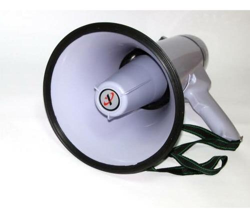 megafone com microfone destacavel 300 metro 30w com gravador