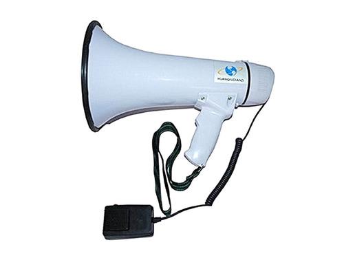 megafono 25 watts con bateria recargable grabador microfono