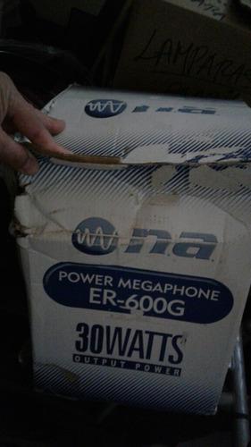 megafono nipom america 30 watts