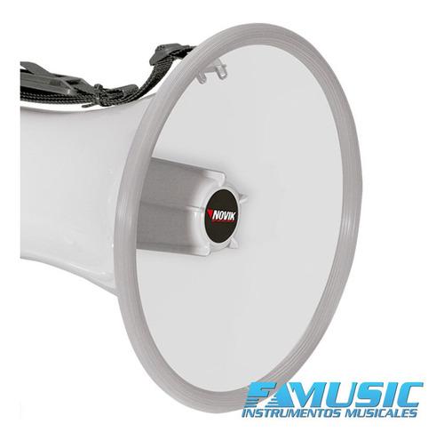 megafono novik nk 66s potencia 25 watts
