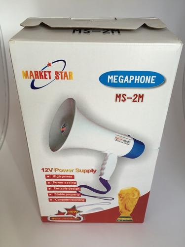 megafono predicador amplificador altoparlante con grabador i