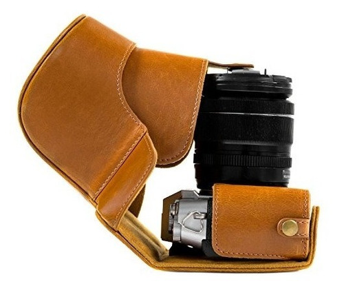 megagear ever ready protective leather camera case, bag for