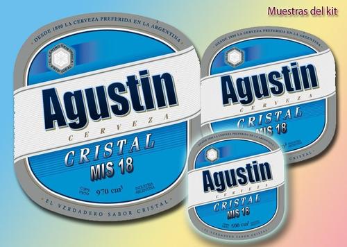 megakit imprimible de etiquetas de bebidas