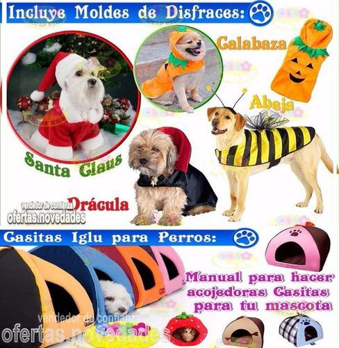 megakit manuales moldes patrones de ropa para perros videos