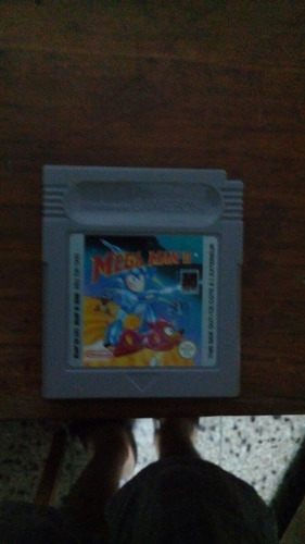 megaman 2 nintendo gameboy label 10/10