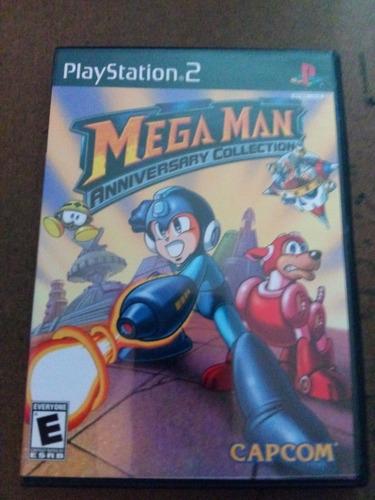megaman anniversary collection -juego -ps2