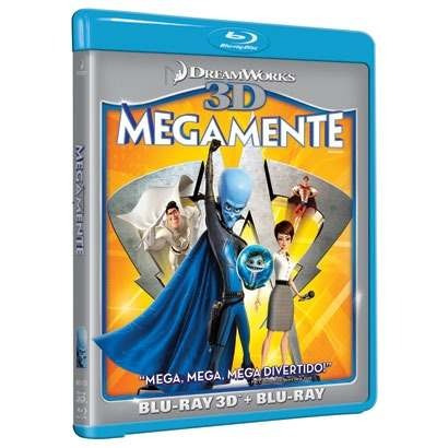 megamente blu-ray 3d + blu-ray