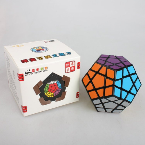 megaminx dodecaedro de alta velocidad shengshou original