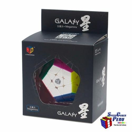 megaminx qiyi galaxy  sculpture cubo mágico de rubik