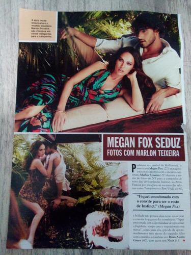 megan fox - páginas de revistas variadas