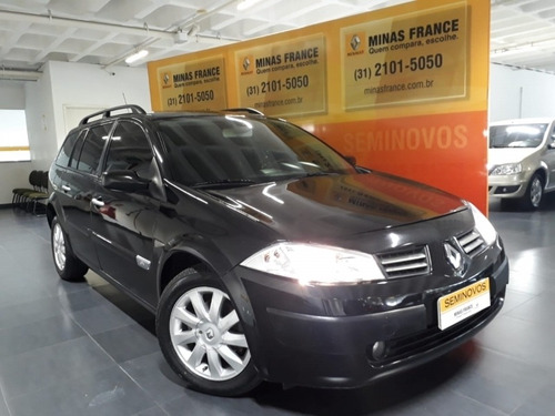 mégane 1.6 dynamique grand tour 16v flex 4p manual 66000km