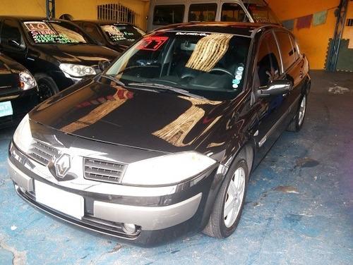 megane 2007 sedan automática completa