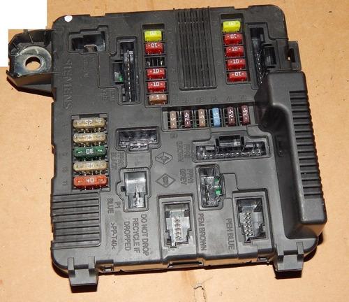 megane scenic caja de fusibles reparacion falla electronica